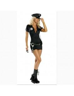 Costume sexy poliziotta con manette
