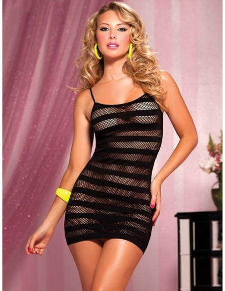 Body Stocking a Rete Nero