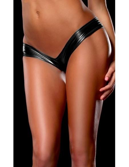 Sexy Perizoma Mini Shorts Culotte Metallizzato Lingerie Donna Tanga Vari Colori M