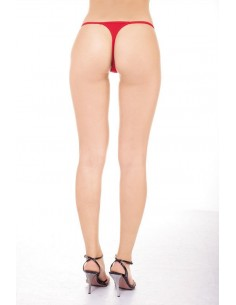 Sexy Perizoma Rosso In Cotone