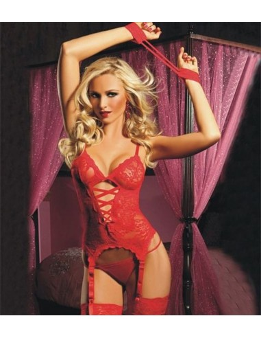 BODY TEDDY ROSSO PIZZO