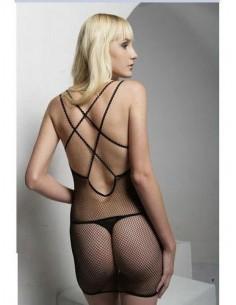 Bodystocking Sexy Lingerie Intimo Donna Tuta A Rete Catsuit Body C String Oixex