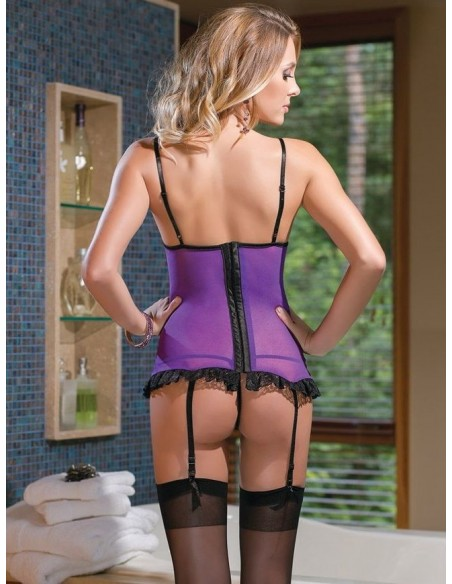 Guepiere Sexy Completo Intimo PIzzo