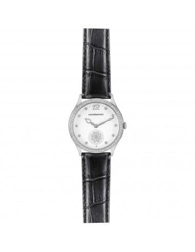 Orologio Donna RoccoBarocco Jackie Trendy RB0262 Cint. Nero In Pelle