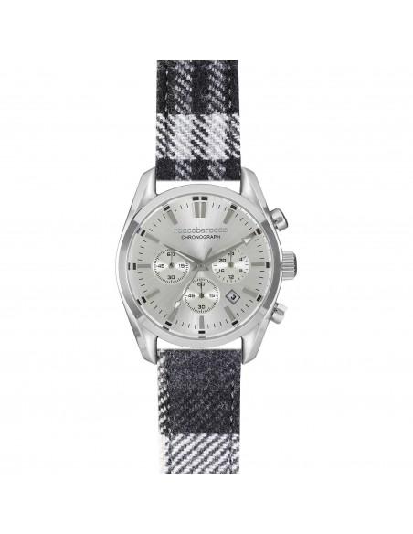 Orologio Cronografo Uomo RoccoBarocco Classy RB0240 Cint. Tessuto