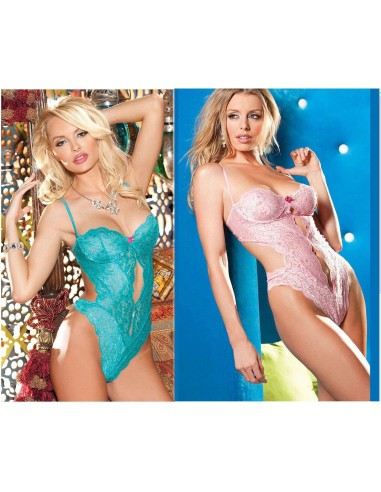 Body In Pizzo Completino Donna