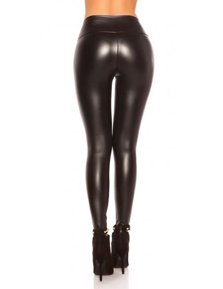 Leggings Hot Effetto Pelle