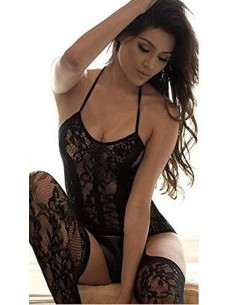 Sexy Bodystocking Nero a Rete